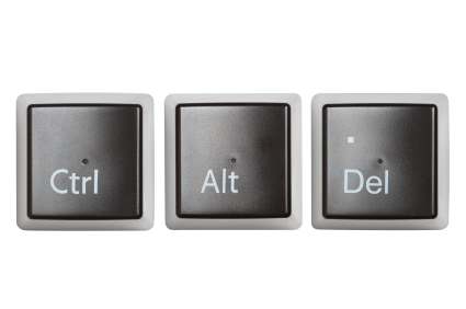 how to do control alt delete on mac keyboard