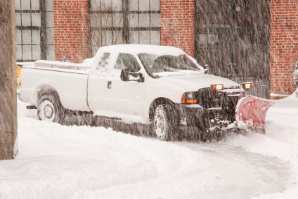 How to Attach a Snow Plow to a Truck - Snow Removal