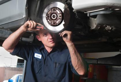 Car Shakes when I Brake at High Speeds Auto Repair
