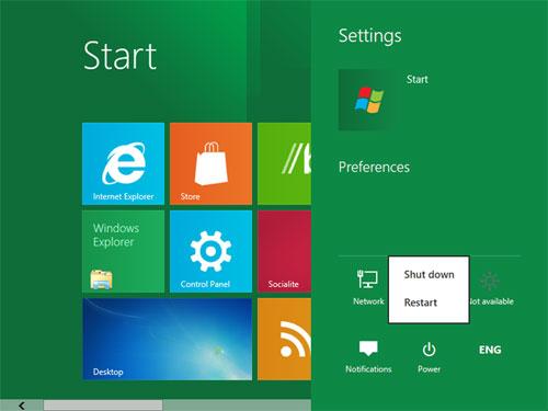 How to Restart Windows 8 - Computer Repair - Seva Call Blog