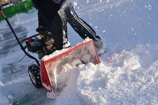 Fixing A Snow Blower