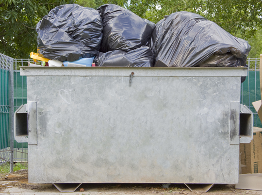 What Can Be Disposed In A Dumpster - Garbage Removal - Seva Call Blog