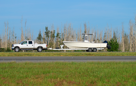 How To Tow A Boat With A Car - Towing