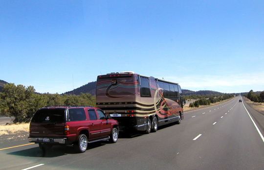 What You Need to Know about Towing Vehicle Behind RV - Towing