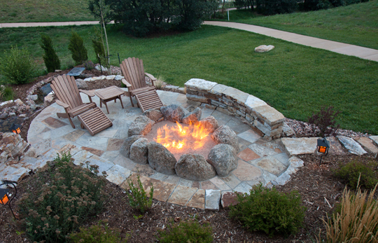 Outdoor Fire Pit Designs  Landscapers  Talk Local Blog