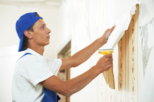 Easy Way To Remove Wallpaper - Painters