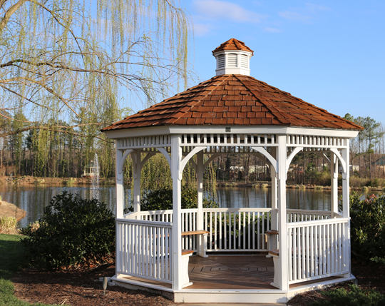 Roofs for gazebos roofers seva call blog for Gazebo cost to build