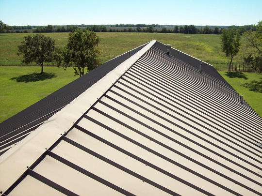 Aluminum Roof Repair to Patch up Holes - Roofers