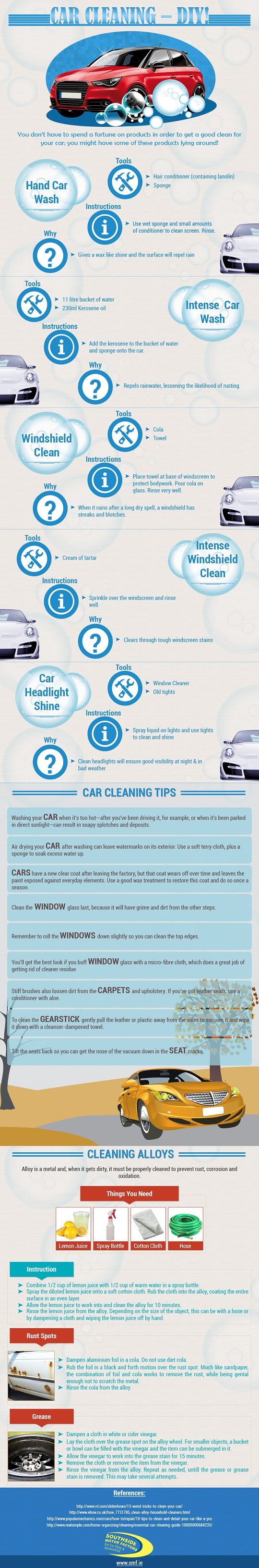 Car Cleaning DIY - Car Wash