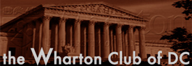 Wharton Club press logo